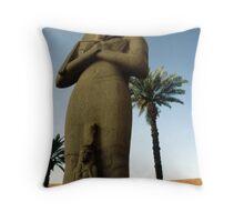 Ramesses II & Bent'anta Throw Pillow