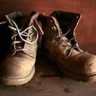 Old Boots-Maldon,Victoria by graeme edwards