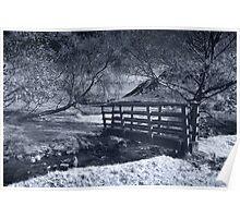 Bridge Over Scale Beck IR Poster