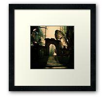 Alice in Wonderland Framed Print