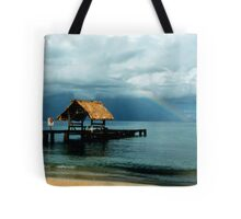 Rainbow at Pigeon Point Tote Bag