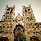 The West Front of Lincoln Cathedral by eyeshoot