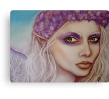 Hydrangea Faerie Canvas Print