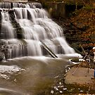 Paper Mill Falls-Avon, New York State by BigD