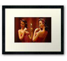 Boudoir Belle Framed Print