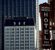 hidden North Beach icons... by Bob Moore