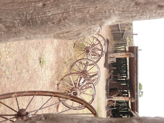 Hubbel Trading Post Corral. by Mywildscapepics