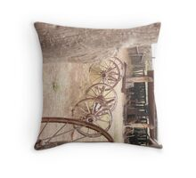 Hubbel Trading Post Corral. Throw Pillow