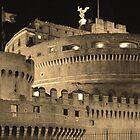 Castel San Angelo, Rome. by Joanna Beilby