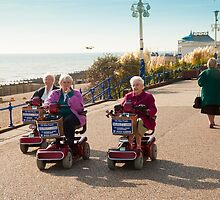 Silver Haired Racers by DonDavisUK