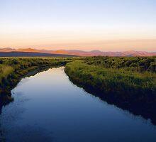 Chewaucan River #2 by Allan  Erickson
