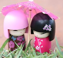 China doll friends by Yentuoc
