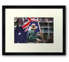 Spirit Of The Southern Cross Framed Print