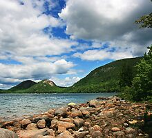 Jordan Pond by Jayne Le Mee