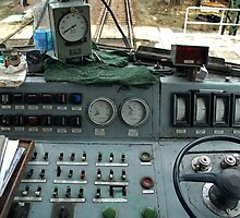 The control panel of the Polish diesel locomotive by trainmaniac
