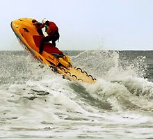 RNLI Jet Ski Patrol by David Morgan