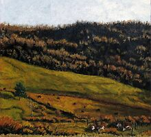 Late Fall Pasture by Bruce Haney