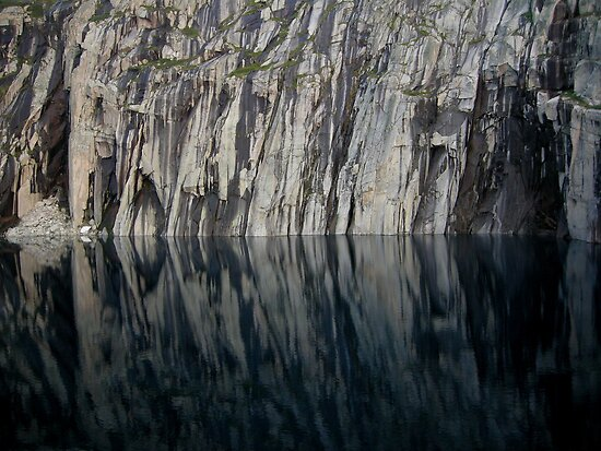 Precipice Lake, High Sierra  Trail, Sequoia National Park by Rebecca Sowards-Emmerd