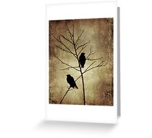 enter the dusk Greeting Card