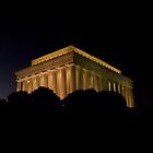 The Lincoln Memorial by Marsha Rollins