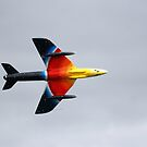 Hawker Hunter F4 by Wayne Gerard Trotman