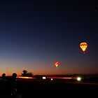 Balloon Sunrise by Candler Photography