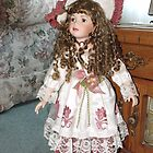 Old Fashioned Country Doll by Jan  Tribe