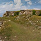 St Aldhelm's Head Triptych Part 3 by bubblebat