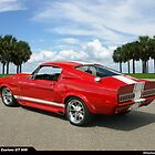 1968 Ford Mustang Custom GT 500 by 454autoart