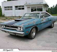 "1970 Plymouth GTX ""Barn Find"" by 454autoart"