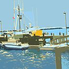 Bodega Bay Print by margaret986