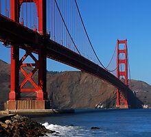Golden Gate Waves by Benjamin Padgett