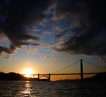 Golden Gate Cloudscape by Benjamin Padgett