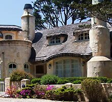 Another Dream Cottage at Carmel-by-the-Sea by Marjorie Wallace
