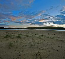 Simmer dim sunset, St Ninian's Isle by ShroomIllusions