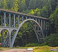 Cape Creek Bridge by Bryan D. Spellman