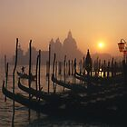 At The End of the Day -Venice by Albert Sulzer