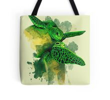 Gliding the Green Tote Bag