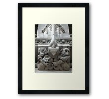 Tribune Grotesques Framed Print
