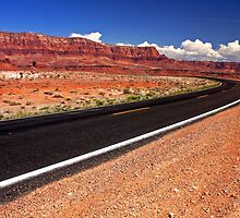 Open Road in Arizona by Julia Washburn