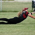 Diving Catch NPF Rockford Thunder by Erik Anderson