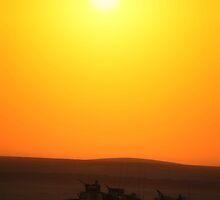 Iraqi Sunset by Joshua Eklund