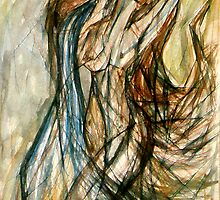 The Water Bearer (Aquarius) by Leni Kae