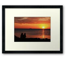 this is spring? Framed Print