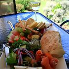 Lunch at Lake Barrington by Claire Walsh