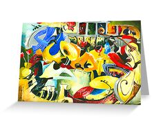 All That Jazz - New Orleans Inspiration Greeting Card