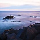 Sunset seascape by Andrea Rapisarda