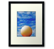 COUNTERACT Framed Print