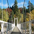 Suspension bridge by CaptKremmen