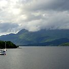 Ben Lomond and the Loch by oulgundog